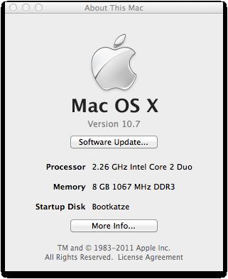 Mac OS X 10.7 Lion im Test: Schieben statt scrollen - Mac OS X 10.7 alias Lion