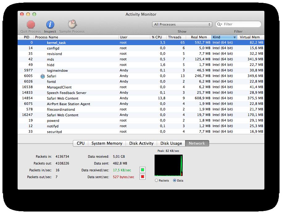 Mac OS X 10.7 Lion im Test: Schieben statt scrollen - Lion ist ein 64-Bit-Betriebssystem.