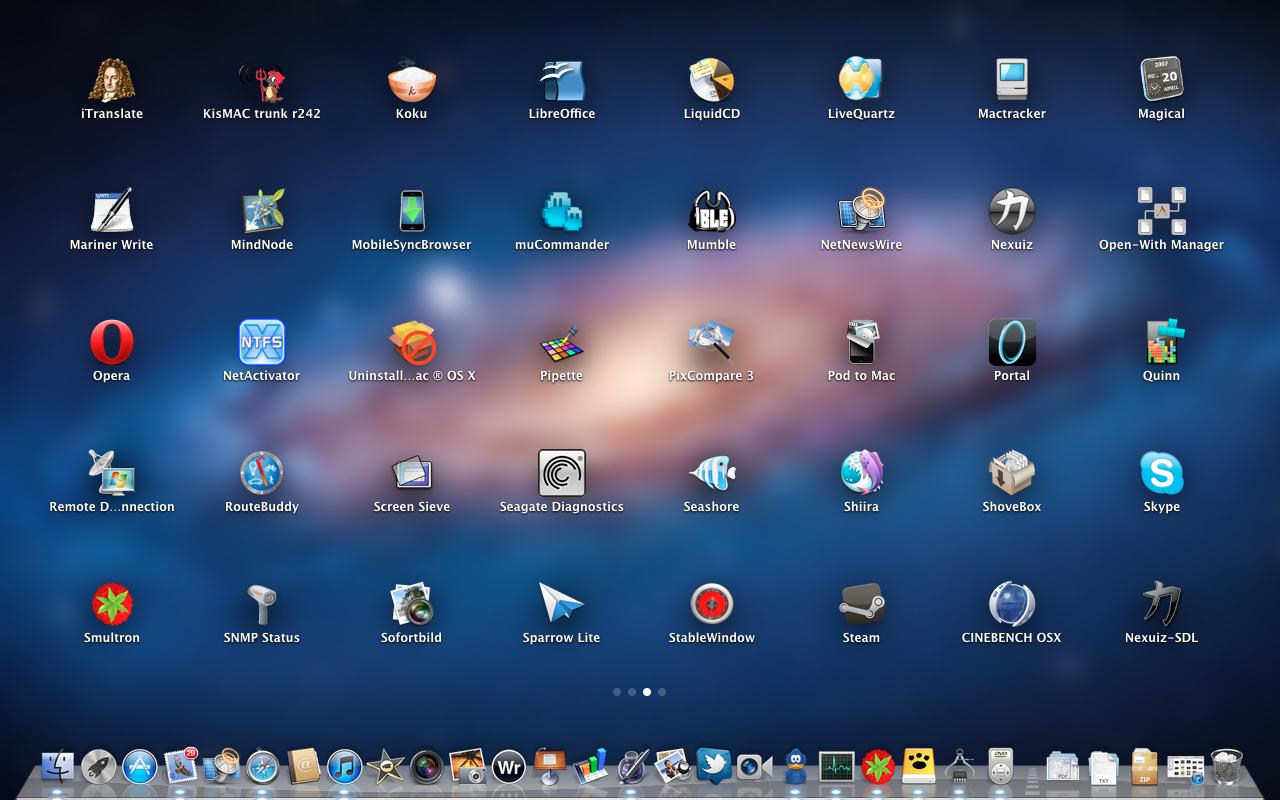 Mac OS X 10.7 Lion im Test: Schieben statt scrollen - Launchpad