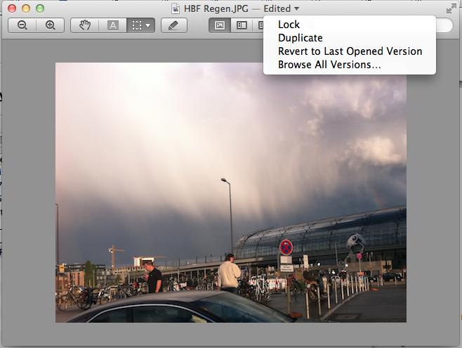 Mac OS X 10.7 Lion im Test: Schieben statt scrollen - Versions anhand eines Bildes