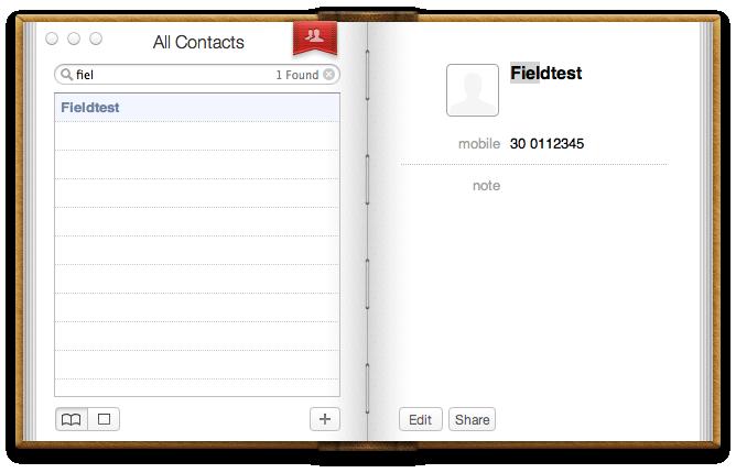 Mac OS X 10.7 Lion im Test: Schieben statt scrollen - Kontakte