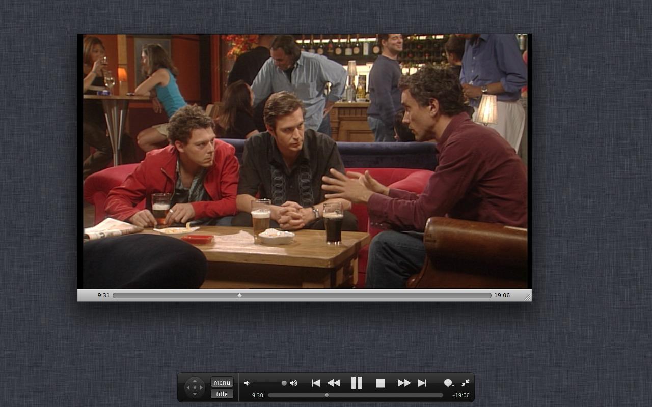 Mac OS X 10.7 Lion im Test: Schieben statt scrollen - Kleiner Fehler: DVD Player im Vollbildmodus ohne Vollbild.