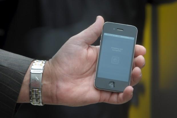Reinsch bestimmt den Startpunkt über die Ortung des Smartphones.
