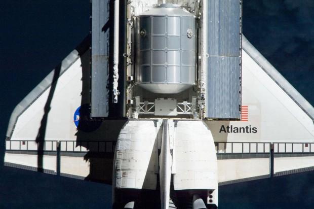 Die Atlantis hatte auf ihrem letzten Flug Güter zur ISS gebracht. (Foto: Nasa)