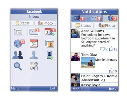 "Neue Java-Anwendung ""Facebook for Every Phone App"" (Bild: Facebook)"