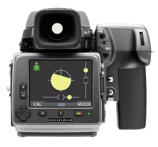 Die neue Firmware bietet eine digitale Wasserwaage... (Bild: Hasselblad)