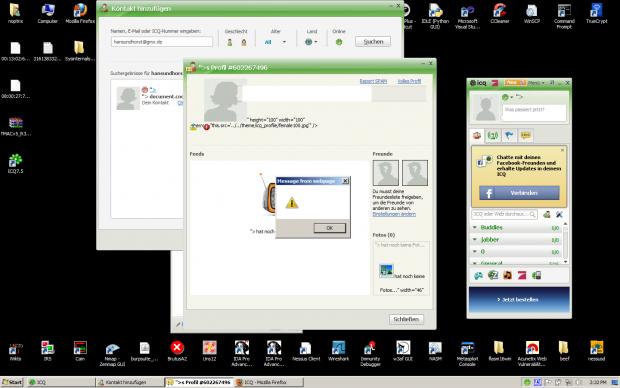 Angreifer können eine Sicherheitslücke im ICQ-Client nutzen, um sich Zugriff auf Windows-Systeme zu verschaffen.