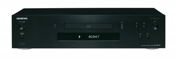 Onkyo BD-SP809 in Schwarz - Vorderseite des Blu-ray-Players (Bild: Hersteller)
