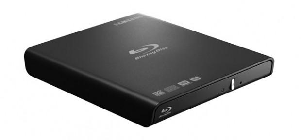 Samsungs Blu-ray Combo-Laufwerk SE-406AB/RSBD in Schwarz (Bild: Hersteller)