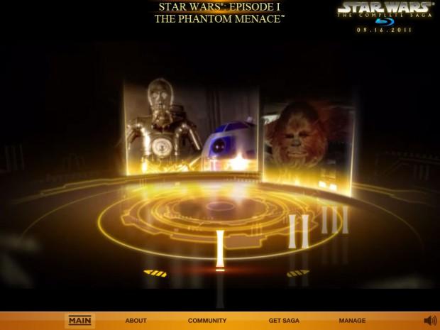 Star Wars Blu-ray: Early Access (Screenshot: Golem.de)