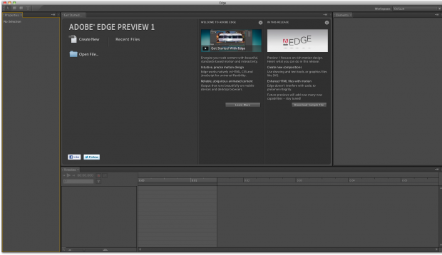 Adobe Edge Preview 1