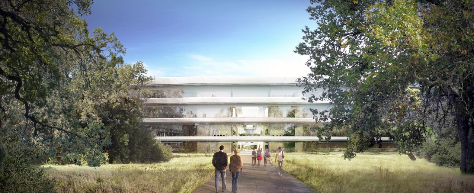 Raumschiffdesign: Details zu Apples neuer Firmenzentrale - Apple Campus 2 (Bild: Apple/Cupertino.org/Foster + Partners)