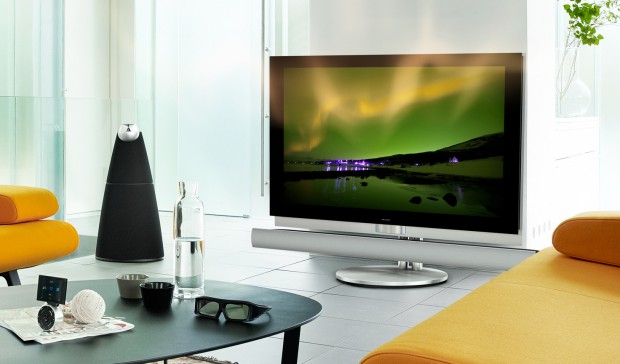 bang olufsen 3d fernseher beovision 7 55 mit lokaler dimmung. Black Bedroom Furniture Sets. Home Design Ideas