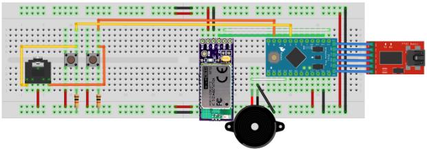 Bluetooth Morse Code Keyboard (Bild: Zunkworks)