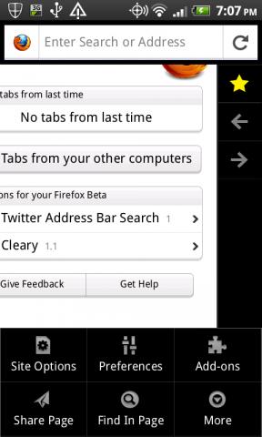 Firefox 6 für Android