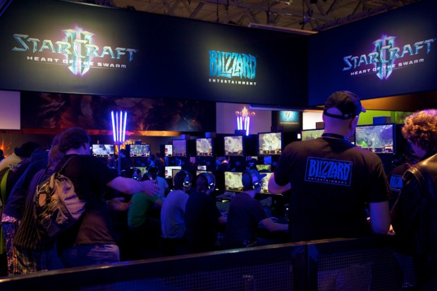 Starcraft 2 Heart of the Swarm war anspielbar. (Bild: Michael Wieczorek)