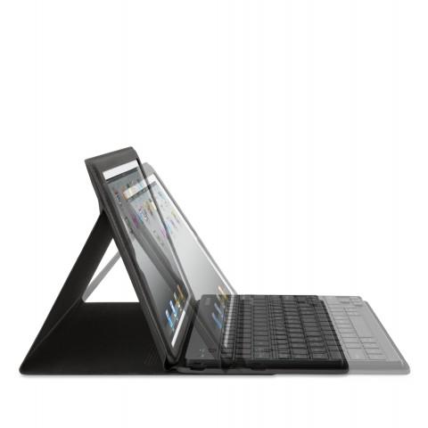 Keyboard Folio for iPad 2 mit unterschiedlichem Winkel (Bild: Belkin)