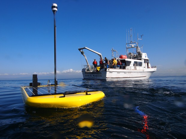 Wave Glider von Liquid Robotics.