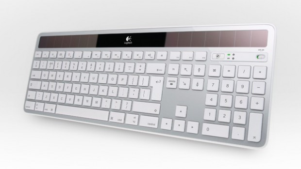 Logitech Wireless Solar Keyboard K750 für Mac (Bild: Logitech)