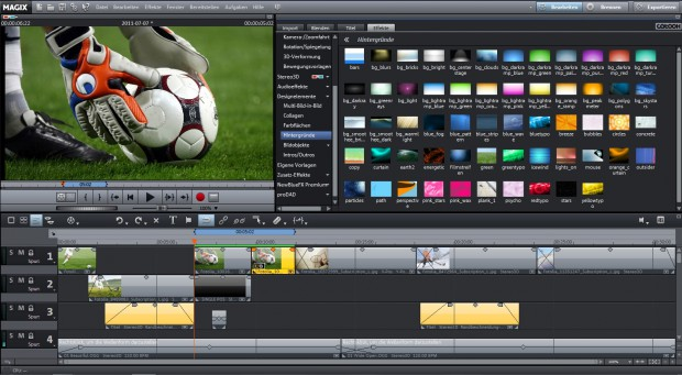 Magix Video deluxe MX Premium (Bild: Magix)