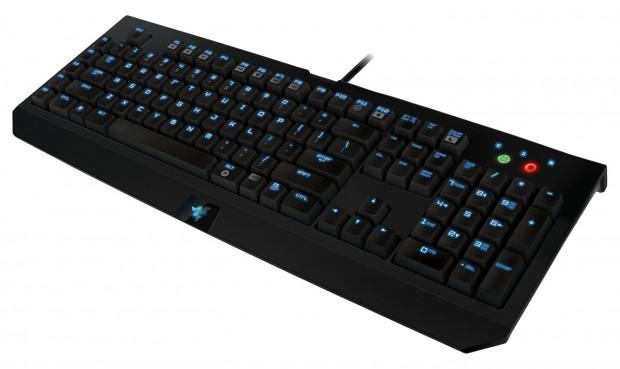 Razer Blackwidow Ultimate Stealth Edition - mechanische Tastatur mit Tastenbeleuchtung und 'Extreme Anti-Ghosting' (Bild: Hersteller)