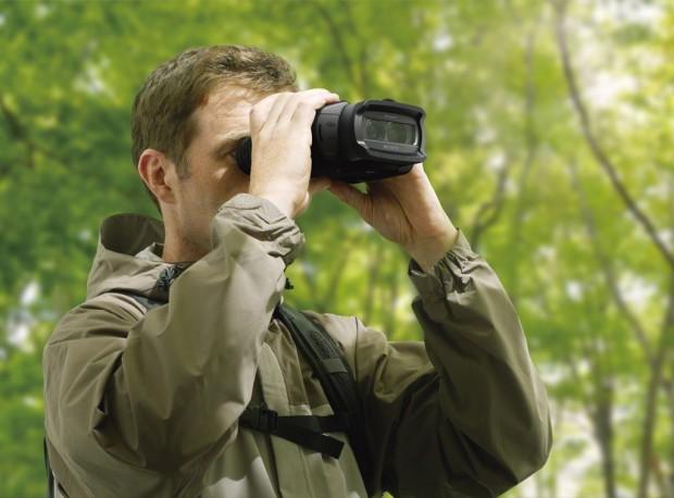 Sonys digitales Fernglas vergrößert maximal 10fach. (Bild: Sony)