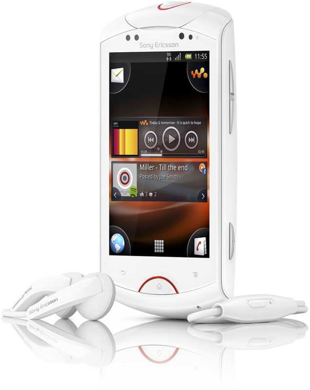 Live with Walkman: Neues Android-Smartphone von Sony Ericsson - Live with Walkman