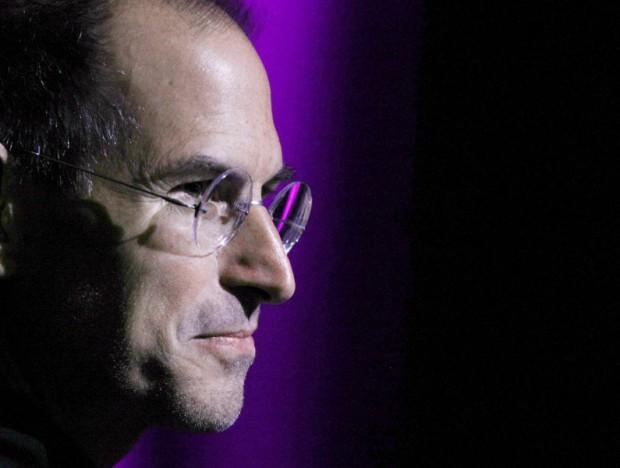Apple-Chef Steve Jobs vor der Vorstellung des iPhone 3GS im Jahr 2008 (Foto: Justin Sullivan/Getty Images)