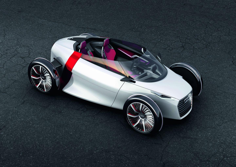 Urban Concept: Audi präsentiert futuristisches Elektro-Cabrio -