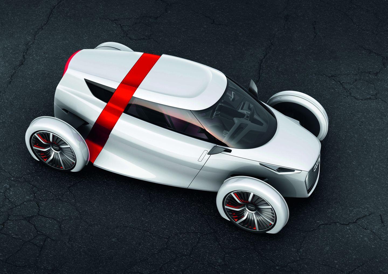 Urban Concept: Audi präsentiert futuristisches Elektro-Cabrio - Angetrieben wird das Auto von Elektromotoren im Heck (Bild: Audi)
