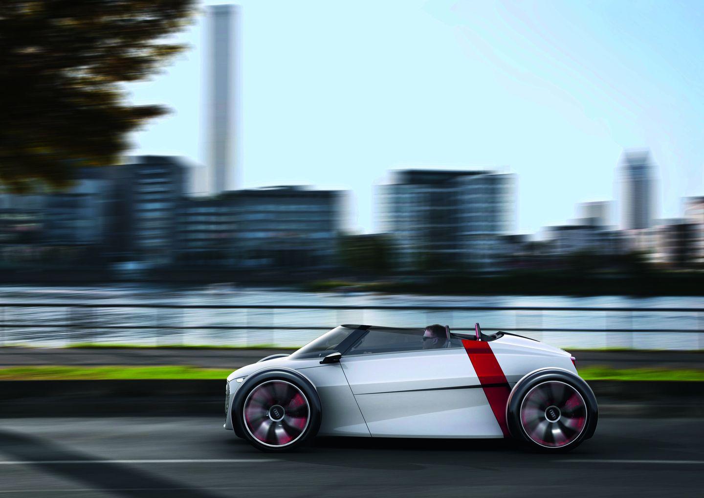 Urban Concept: Audi präsentiert futuristisches Elektro-Cabrio - Vorgestellt wird die Konzeptstudie auf der IAA. (Bild: Audi)