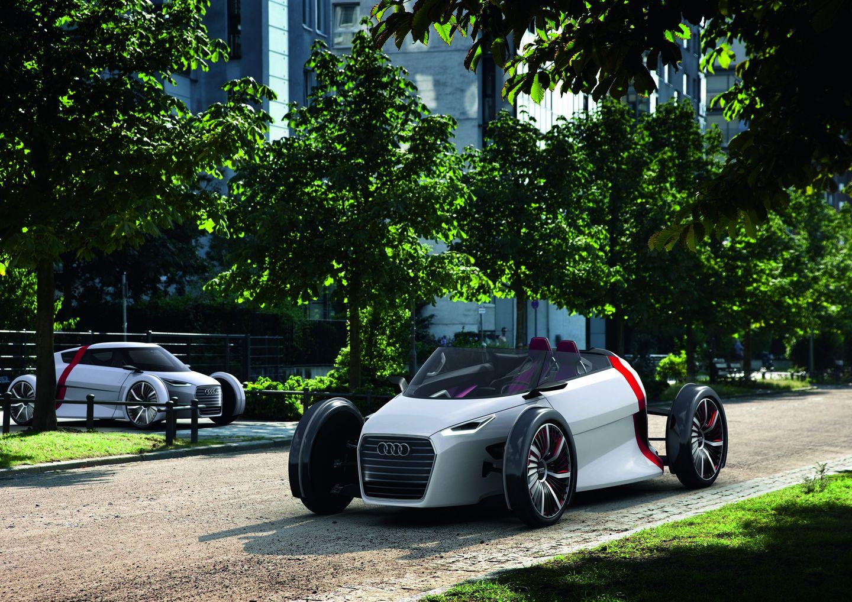 Urban Concept: Audi präsentiert futuristisches Elektro-Cabrio - Ob das Auto auch in Serienfertigung gehen wird, ist unklar. (Bild: Audi)