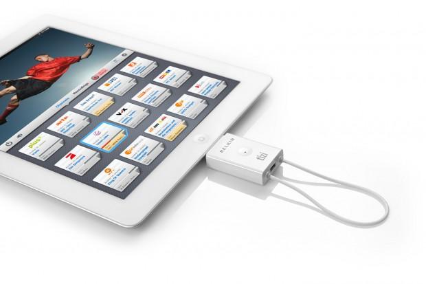 Tizi go - DVB-T-Tuner für das iPad 2 (Belkin)