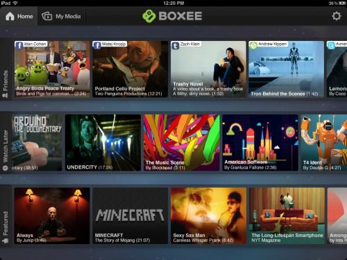 Boxee für iPad (Bild: Boxee)