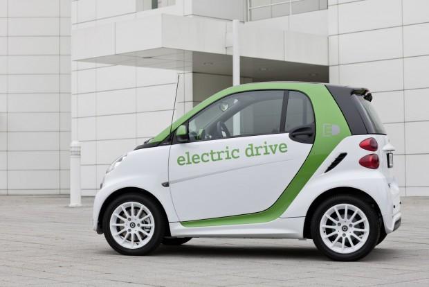 Der neue Elektro-Smart... (Bild: Daimler)