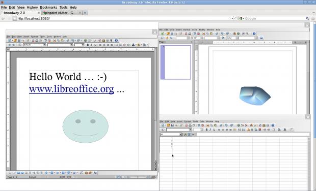 Über den kleinen Webserver Broadway können Gtk+-Anwendungen im Browser mit HTML5 Canvas laufen.