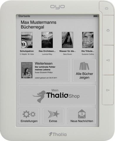 Prozessor, Speicher, Akku: Der Oyo II hat eine bessere Hardwareausstattung (Foto: Thalia)