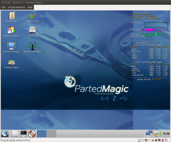 Parted Magic 6.4