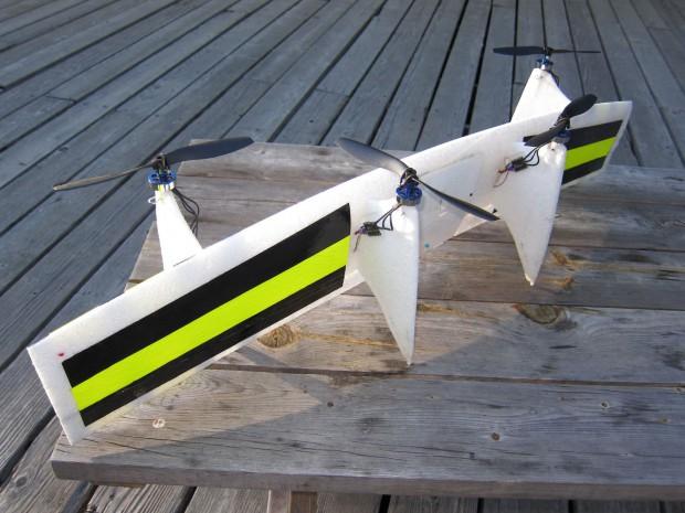 Die Drohne Quadshot (Foto: Quadshot)