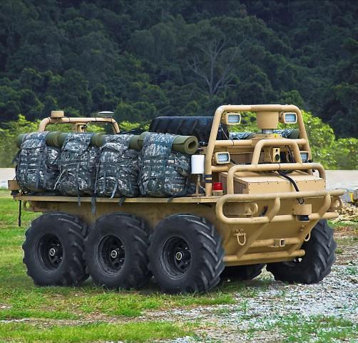 SMSS ist ein robotischer Transporter. (Foto: Lockheed Martin)