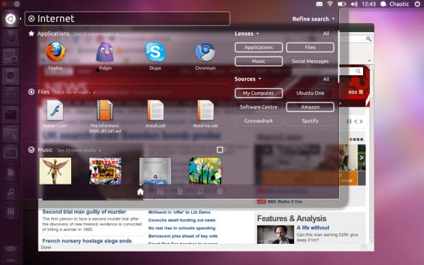 Die neuen Funktionen im Unity-Desktop