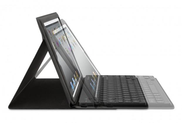 Belkin Keyboard Folio - iPad-2-Schutzhülle und Bluetooth-Tastatur in einem (Bild: Hersteller)