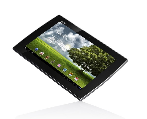 Der Slider als Tablet...