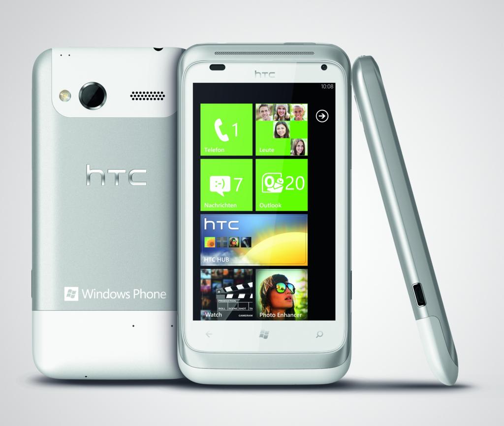 HTC Radar: Smartphone mit Windows Phone 7.5 alias Mango ...