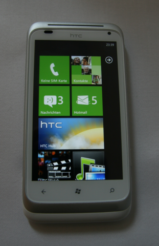 HTC Radar (Quelle: Golem.de)