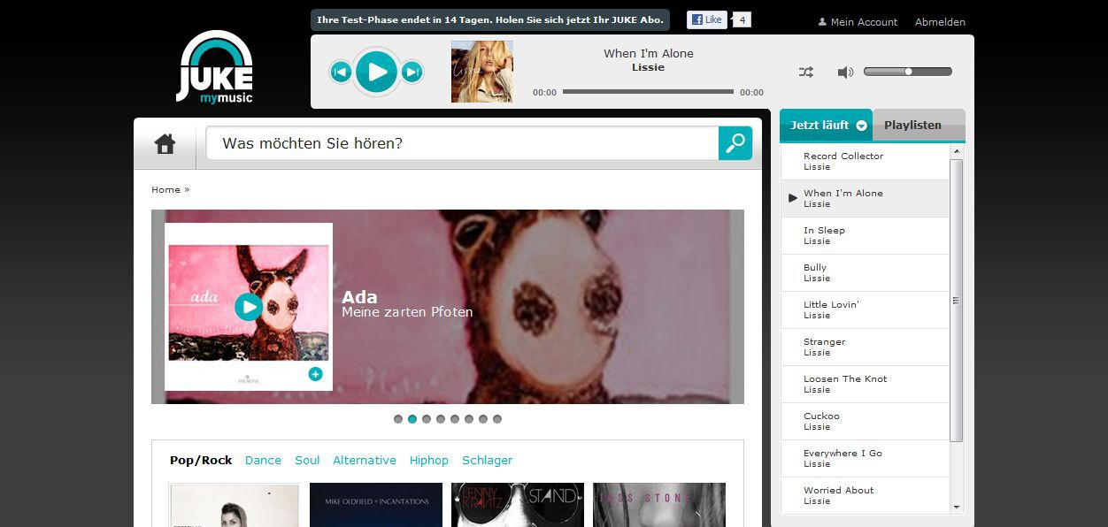 Saturn: Mit Juke gegen iTunes und Spotify - Juke von Media-Saturn im Web