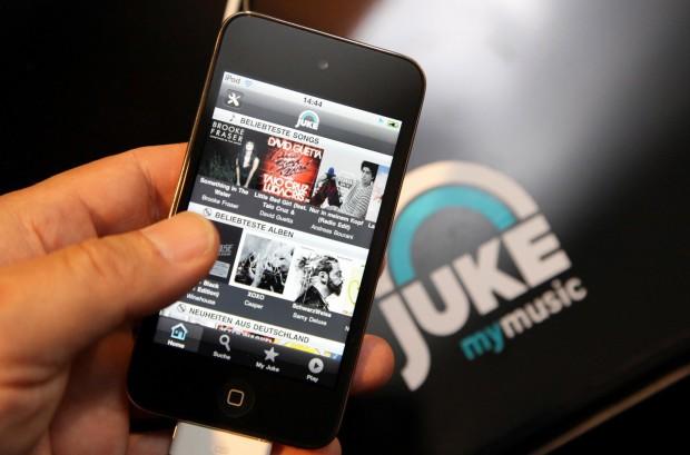 Juke auf dem iPhone