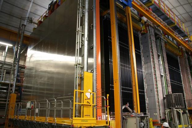 Opera-Experiment (Quelle: INFN - Istituto Nazionale di Fisica Nucleare)
