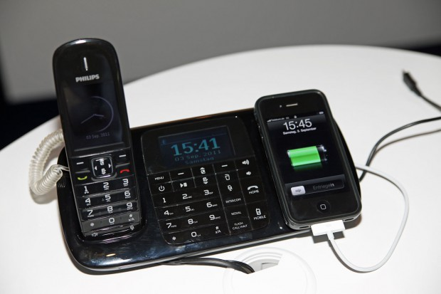 Philips Thinklink SE8881 - DECT-Telefon mit Smartphone-Anbindung (Bild: Golem.de/ck)