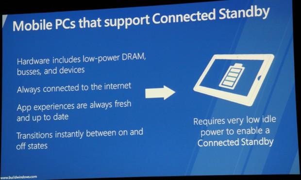 Vorteile von Connected Standby